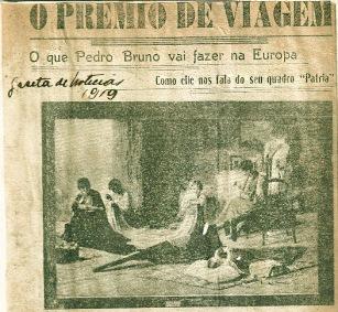 Premio de Viagem - Pátria - Gazeta de Noticias- 1919