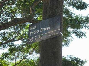 placa de rua