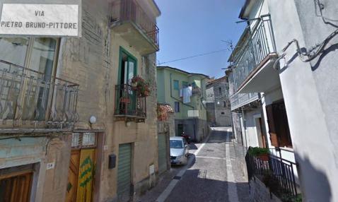 Rua Pietro Bruno Pittore Casalbuono Itália
